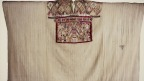 Huipil o blusa adornada que se cree perteneció a La Malinche. Foto: Nahin Cortés/INAH