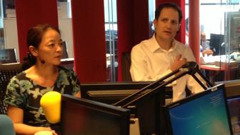 Sarah Wang và Nick Ericsson của BBC