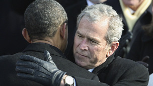Bush y Obama