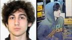 Фотографии, по которым был идентифицирован Джохар Царнаев