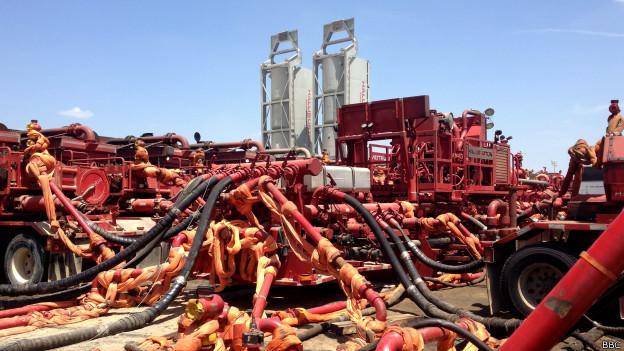 shell fracking