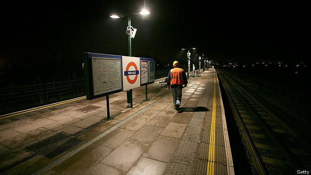 Ночной работник лондонского метро