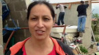 Mujer afectada por huracan odile