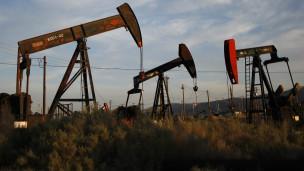 Pozo de extracción de petróleo por fracturación hidráulica