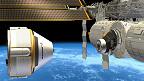 cápsula espacial CST-100 de Boeing.