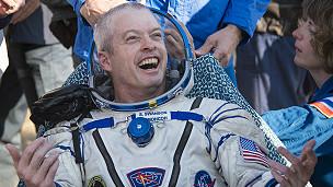 Американский астронавт, вернувшийся с МКС