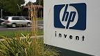 Эмблема HP рядом с их штаб-квартирой