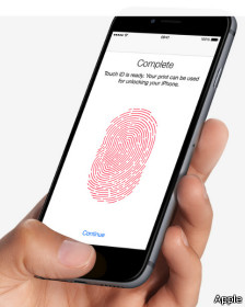 Apple Touch id