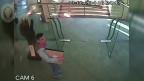 Ladrão em galeria de arte (CCTV)