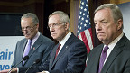 líderes demócratas del Senado