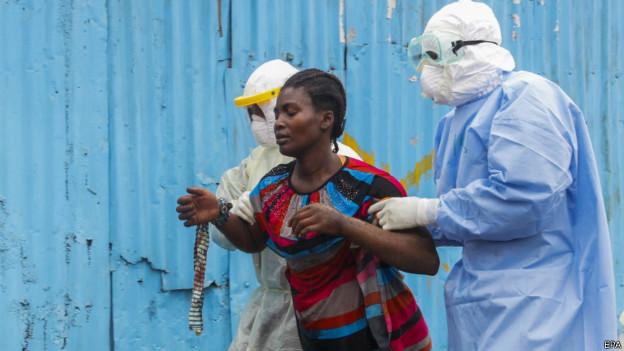 Ebola (EPA)