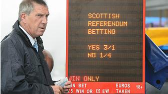 Apuestas en Escocia.