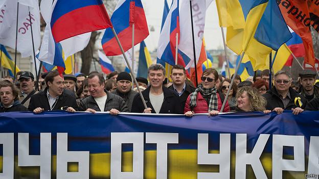 Мартовский антивоенный мар оппозиции