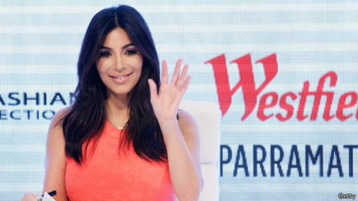 Salah satu foto telanjang yang tersebar diduga menampilkan Kim ...