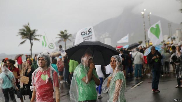Marcha en Río de Janeiro