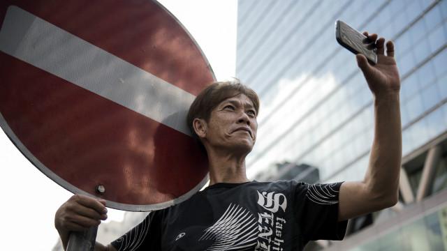 La app con la que los manifestantes de Hong Kong burlan la censura china