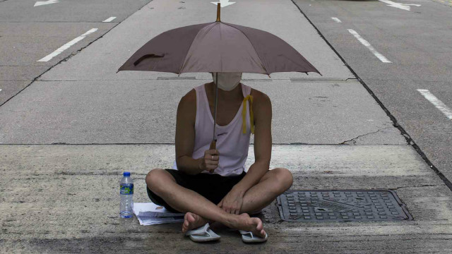Seis cosas que solo pasan en una protesta en Hong Kong