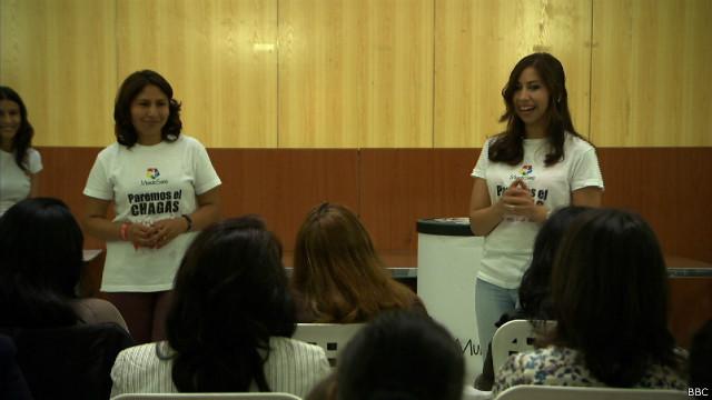 Briggitte Jordan y Altagracia Prieto
