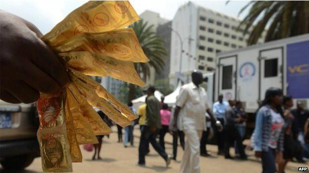 ebola kondom