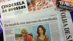 Ícone na região, Tina Galvão critica                    'invisibilidade' dos demais usuários e diz que                    holofotes podem gerar recaída