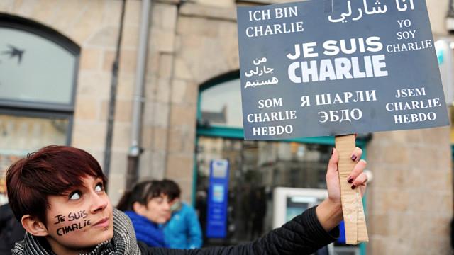 На марш єдності в парижі bbc україна