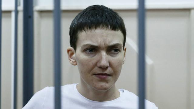 Nadezhda Savchenko in prison