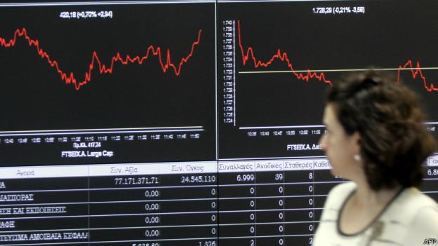 Atina Borsası'nda yüzde 20 düşüş beklentisi