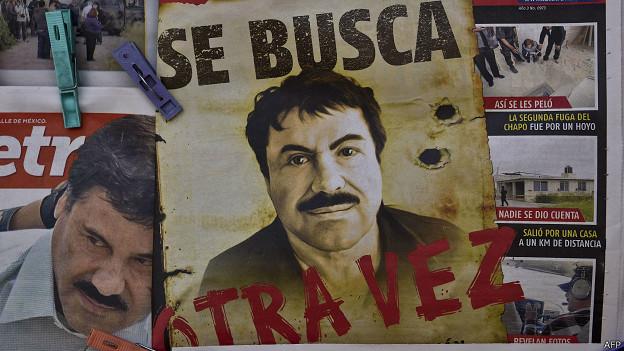 Afiche del Chapo Guzmán