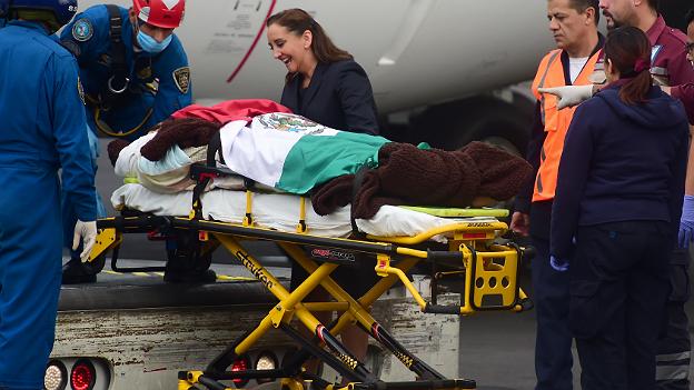 Retorno de los mexicanos heridos en el ataque en Egipto