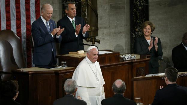 El papa Francisco en el Congreso de Estados Unidos