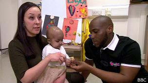 Padres de Layla con Layla