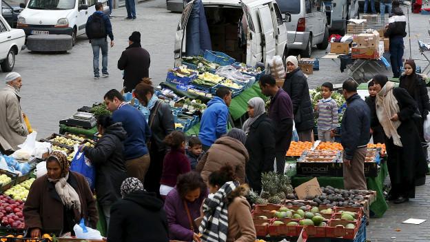 Mercado en Molenbeek