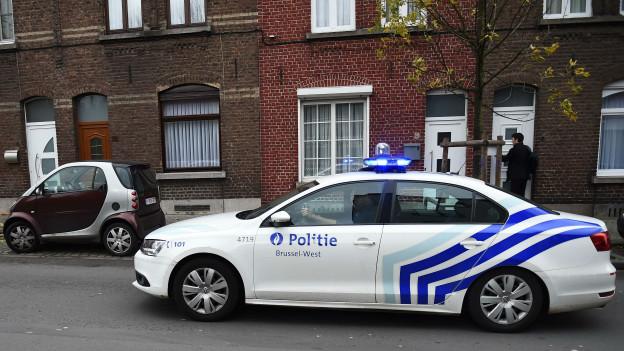 Policía en Molenbeek