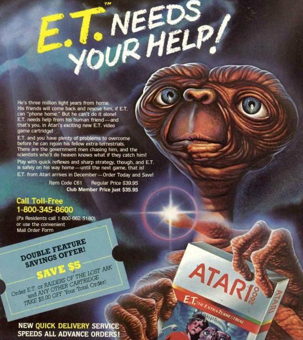Afiche promocional de ET