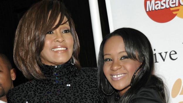 Whitney Houston y Bobbi Kristina