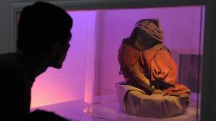 El niño, una momia incaica hallada en 1999.