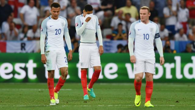 Anh bị loại khỏi Euro 2016