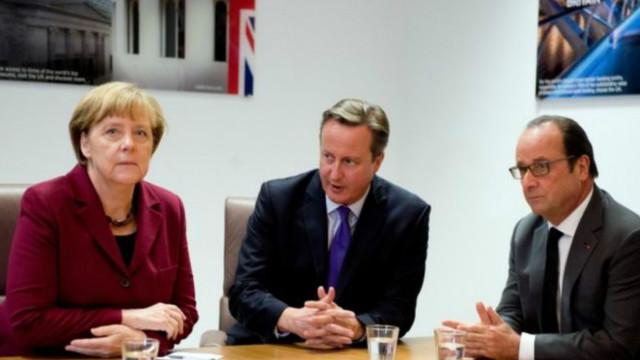 Thủ tướng Anh gặp lãnh đạo EU sau Brexit