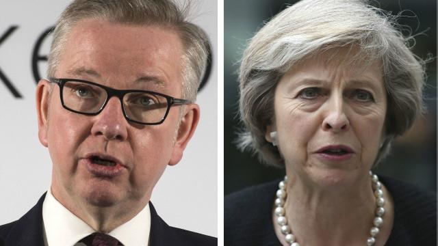 Gove và May ứng cử thay TT Anh Cameron