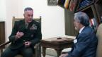 د امریکا پوځ لوی درستیز افغانستان ته تللی