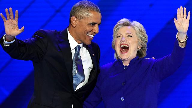 Obama kêu gọi ủng hộ Hillary Clinton