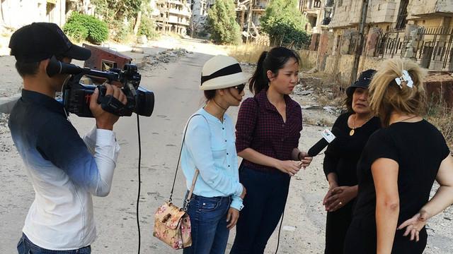 VTV khen thưởng phóng sự về Syria