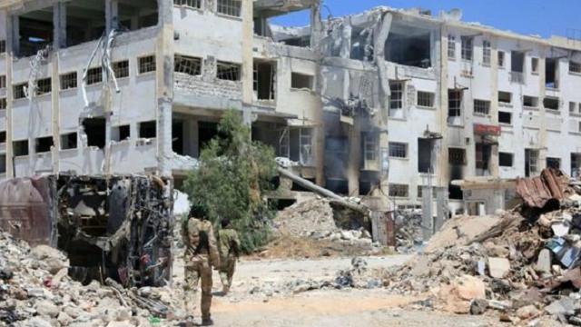 """""""لسګونه کورنۍ له حلب ښاره وتلې دي"""""""