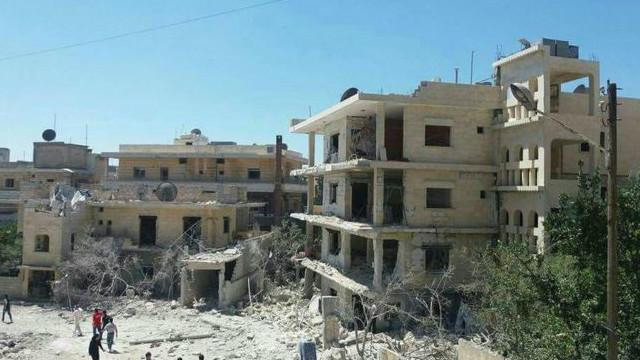 سوریه کې ویجاړ شوي روغتونونه