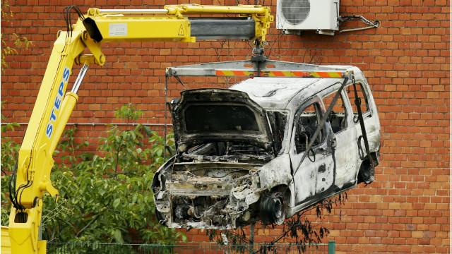 Bỉ bắt năm người sau vụ cháy nổ