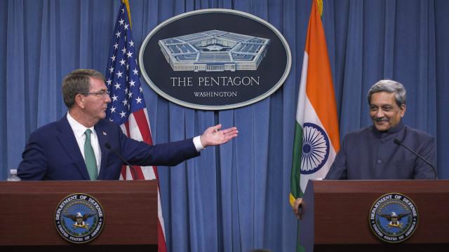 هند او امریکا د پوځي همکاریو تړون وکړ