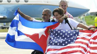 ۵۰ کاله وروسته کیوبا ته د امریکا لومړنۍ الوتنه