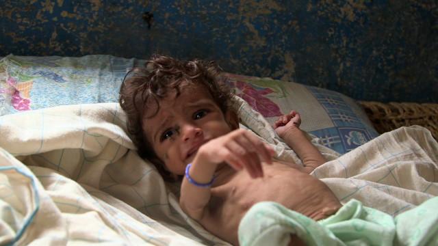 یمن قحطۍ ته نږدې کړی دی