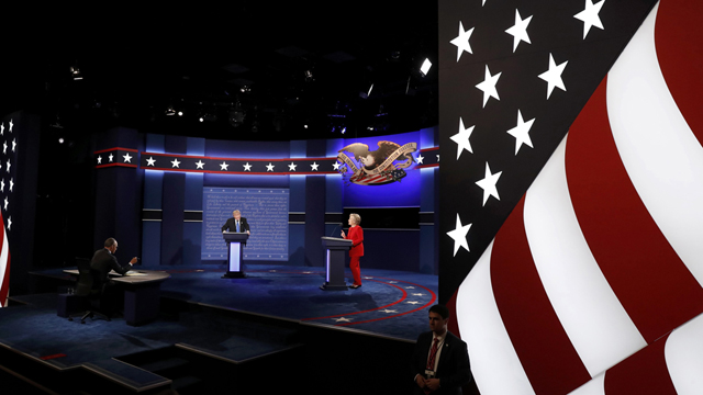Tranh luận Trump-Clinton phá kỷ lục truyền hình
