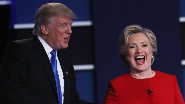 Donald Trump dan Hillary Clinton